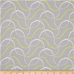 Mojito Medium Toss Floral Light Gray