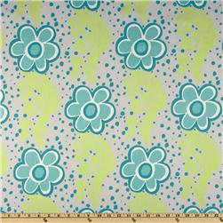 Premier Prints Flower Power Twill Harmony/Green