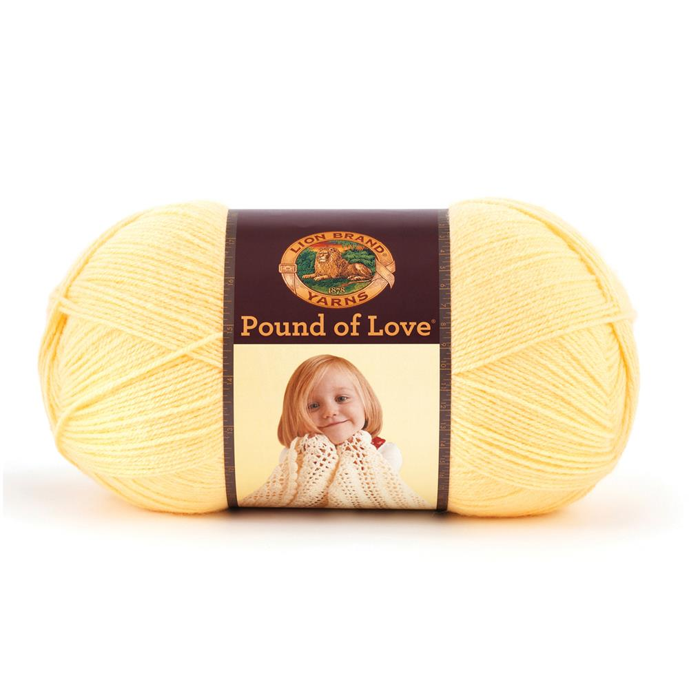 Lion Brand Yarn Pound of Love Honey Bee
