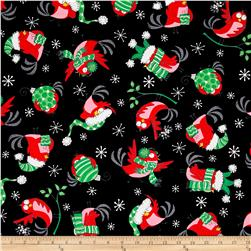 Kanvas Christmas Birds Birds Gone Xmas Black
