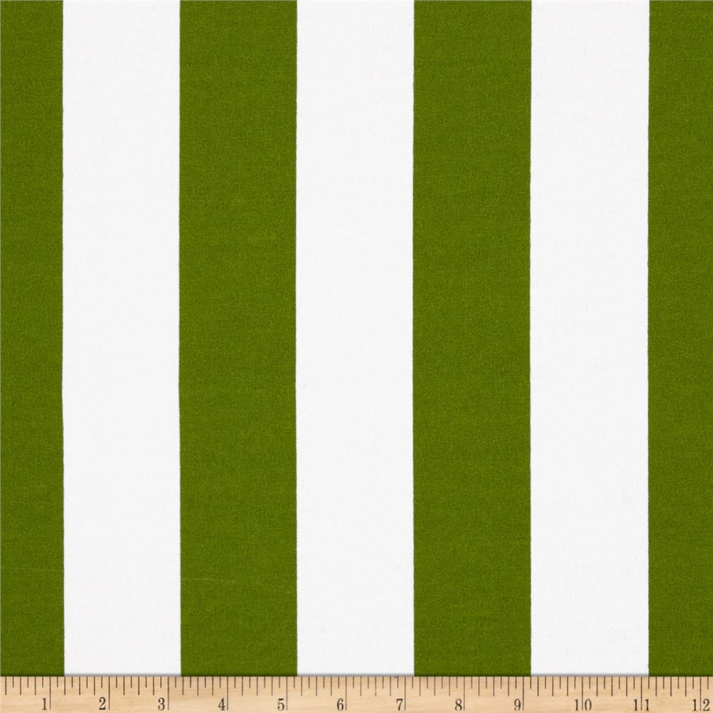 Premier Prints Indoor/Outdoor Vertical Stripe Bay Green