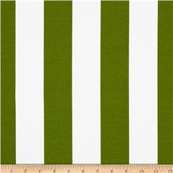 Premier Prints Indoor/Outdoor Vertical Stripe Bay Green Fabric