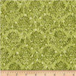 A Walk In The Park Ditsy Mini Floral Green