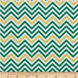 Remix Metallic Small Chevron Kale