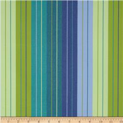 Sunbrella Outdoor Seville Stripe Seaside