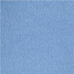 Comfy Double Napped Flannel Bright Blue Fabric
