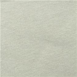 Tri Blend Jersey Knit Solid Pale Grey
