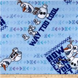 Disney Frozen How Cool Can You Get Fleece Blue