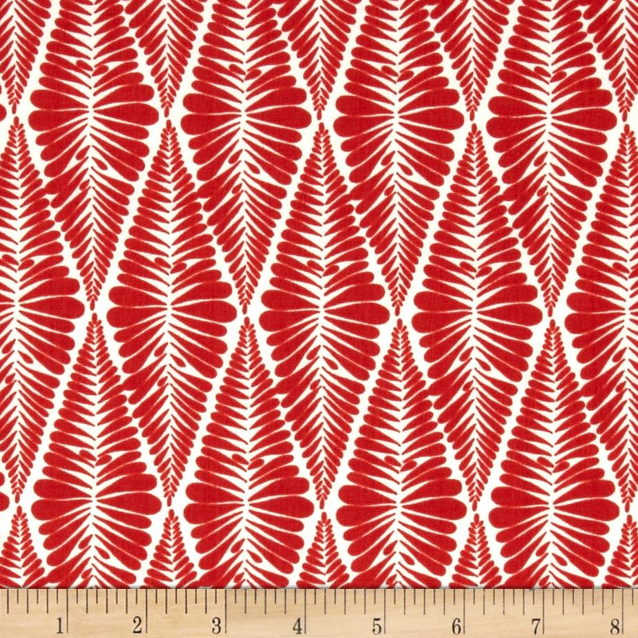 Valori Wells Ashton Road Fern Stripe Poppy
