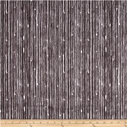 Premier Prints Mockingbird Minky Cuddle Canvas Ash/Snow