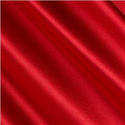 Debutante Stretch Satin Fabric Red