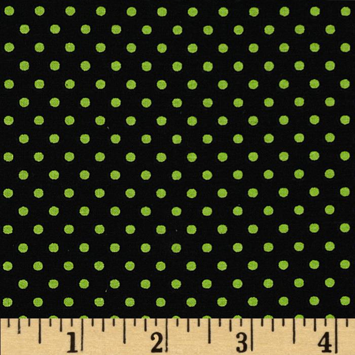 Spotlight Dots Mint/Black