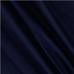 Stretch Blend Hatchi Sweater Knit Solid Navy