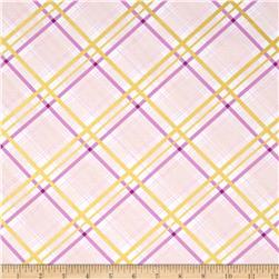 Violet Craft Brambleberry Ridge Bow Tie Plaid Metallic Opal