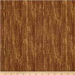 Timber Lodge Flannel Tree Bark Nature Tan