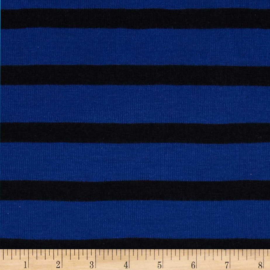 Designer Yarn Dyed Hatchi Knit Dark Blue/Black Fabric