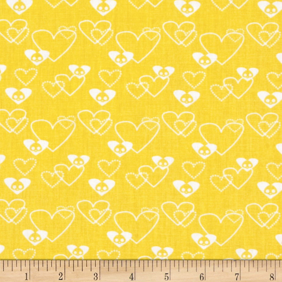 Skelanimals Lots of Love Yellow