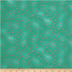 Graphix Scattered Dots Green Pink