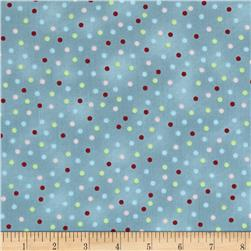 Cottage Charm Dots Blue