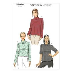 Vogue Misses' Top Pattern V9028 Size A50