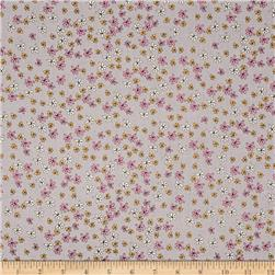 Riley Blake Zombie Love Floral Grey