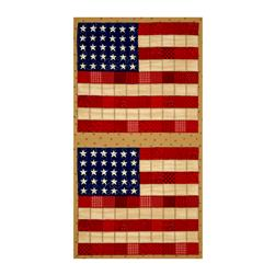 "Moda Sew American! Flag 23"" Panel Traditional"