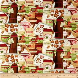 Hot Cider Packed Treats Multi Fabric