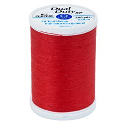 Coats & Clark Dual Duty XP 250yd Atom Red
