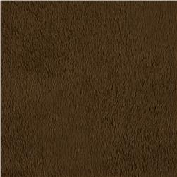 "Shannon Minky Cuddle 3- 90"" Brown"