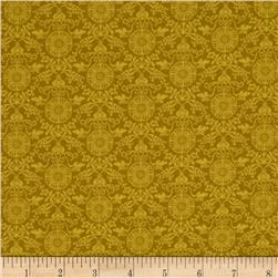 Regency Mini Brocade Mustard