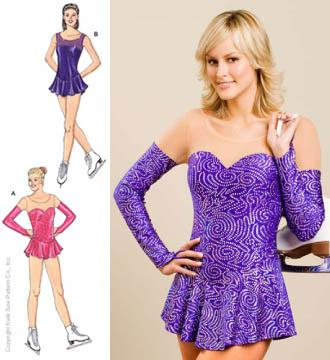 Kwik Sew Misses  Sheer Inset Leotards Pattern