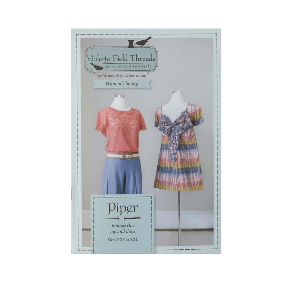 Piper Misses Dress & Top Pattern