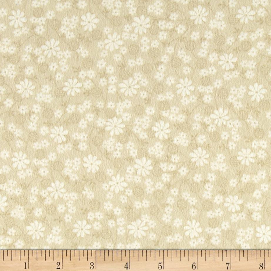Moda Miss Kate Flannel Sweet Flower Grey