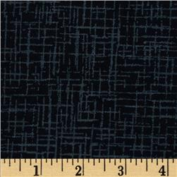 110 In. Wide Quilt Back Betula Flannel Black