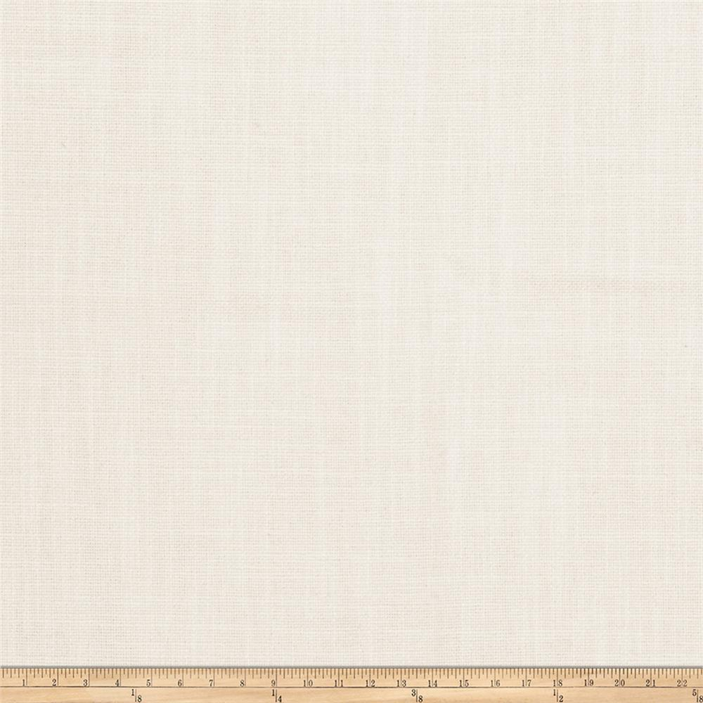 Vern Yip 03351 Linen Blend Solid Ivory