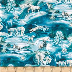 Kaufman Winter's Majesty Digital Wildlife Ice