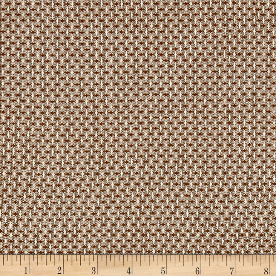Intermix Dobby Shirting Stitch Weave Brown Fabric by Stardom Specialty in USA