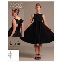 Vogue Misses' Dress Pattern V1102 Size AA0