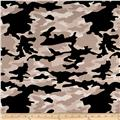 Riley Blake Military Max Camo Black