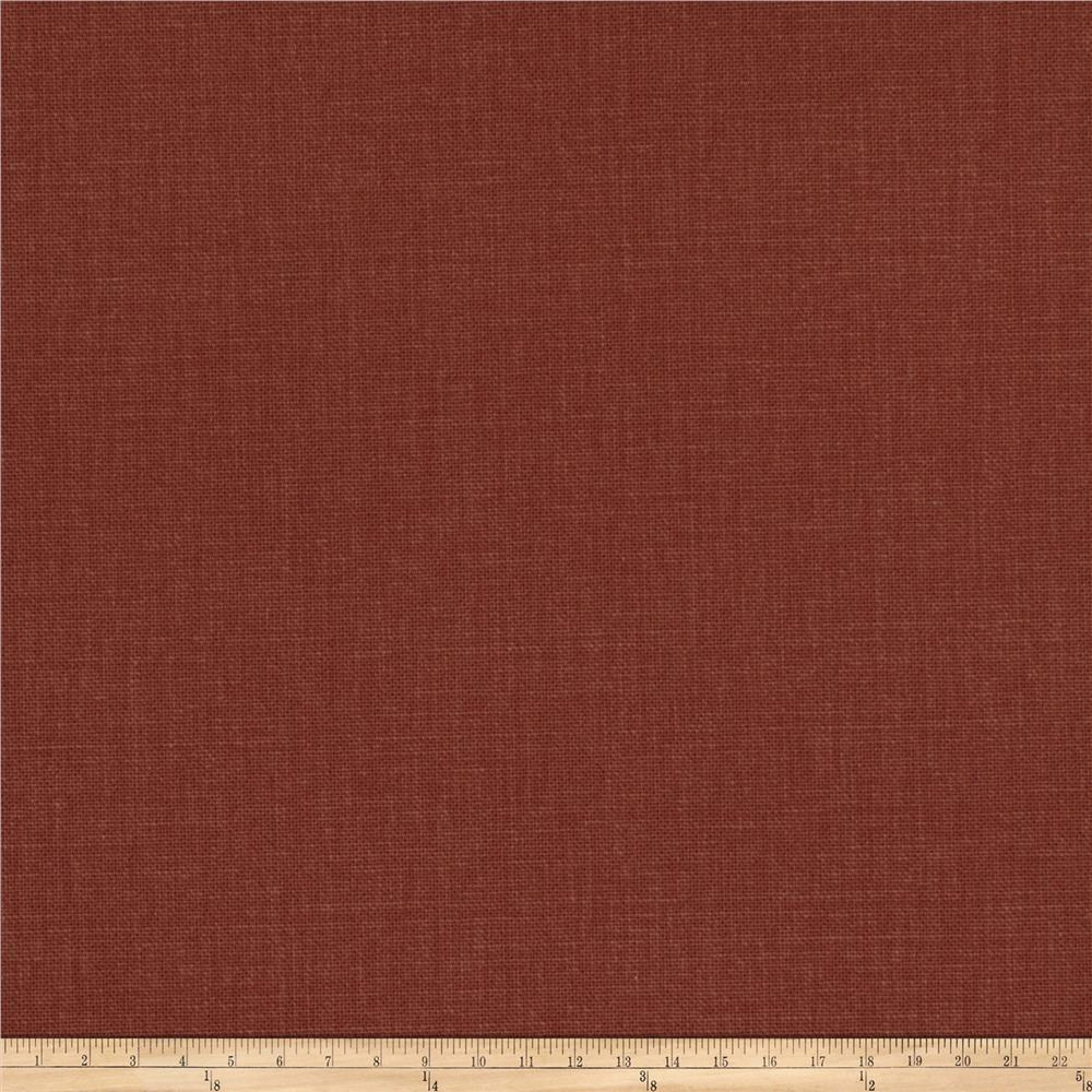 Fabricut principal brushed cotton canvas cinnabar for Canvas fabric