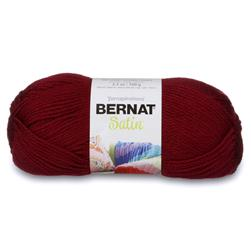 Bernat Satin Yarn Bordeaux