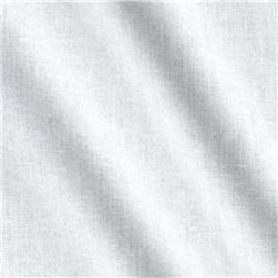 Basic Cotton Broadcloth White Fabric