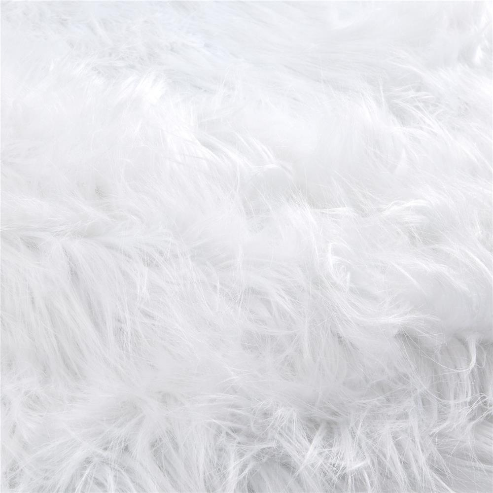 Luxury Faux Fur Monster White