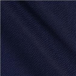 Crepe Double Knit Navy