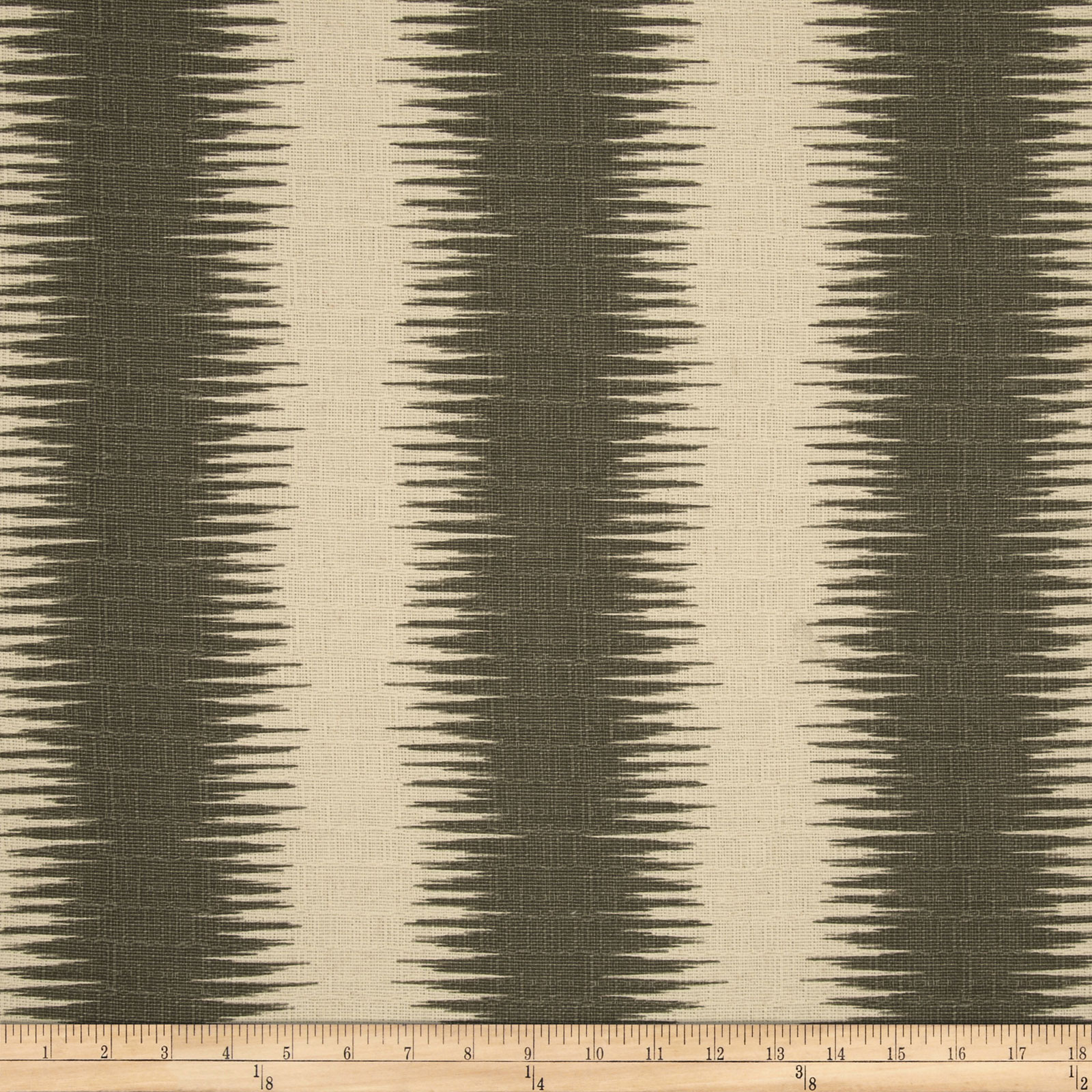Premier Prints Jiri Stripe Nova Grey/Birch Fabric