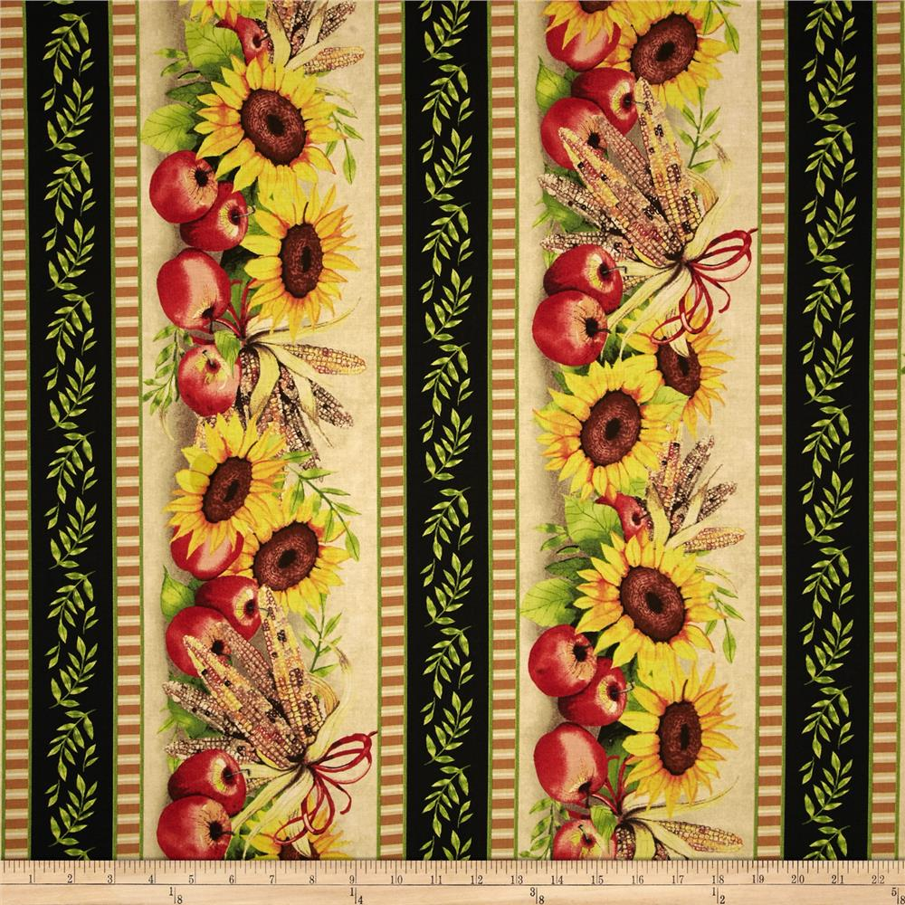 Sunshine Orchard Repeating Stripe Multi