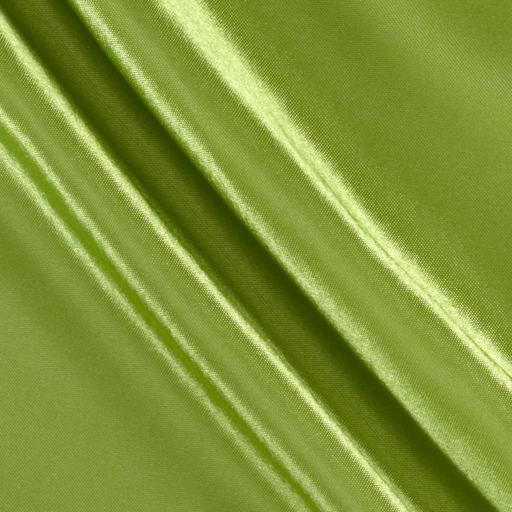 Poly Charmeuse Satin Lime