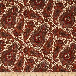 Penny Rose Meadow Paisley Cream