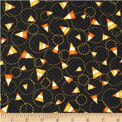 Halloween Hoot Candy Corn Black