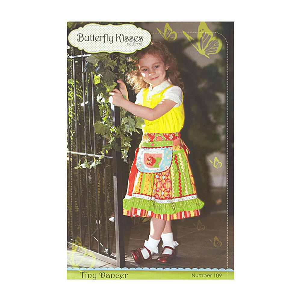 Butterfly Kisses Tiny Dancer Girls Skirt Pattern